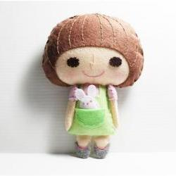 Heidy girl - - PDF Doll Pattern