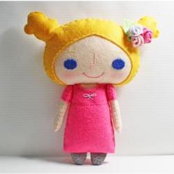 Jenny girl - PDF Doll Pattern